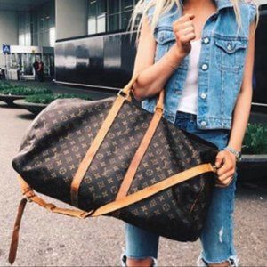 Auth Louis Vuitton Keepall 60 #5966L38